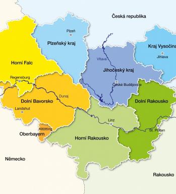 Mapa regionu